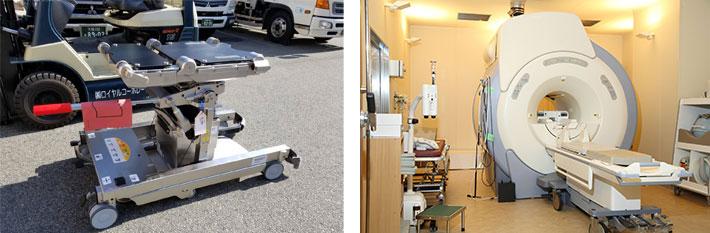 医療機器輸送とは